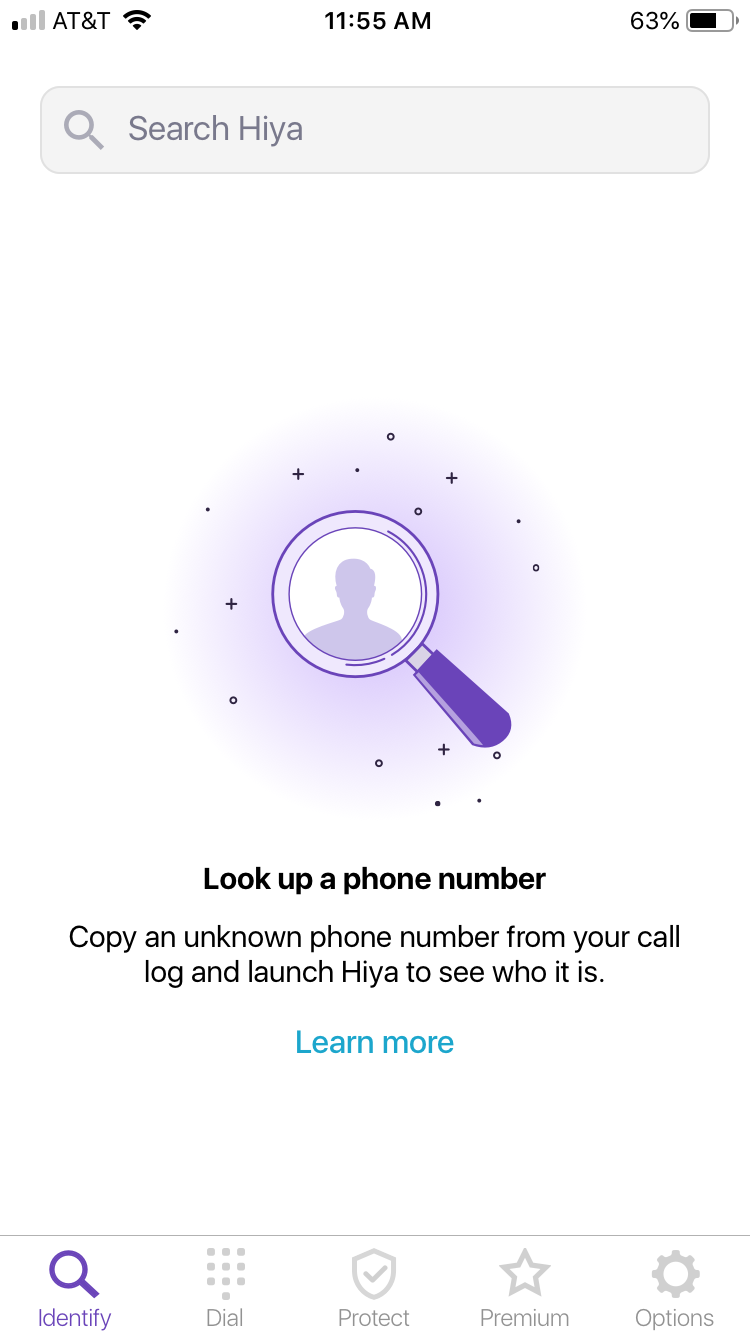 Hiya: iPhone Setup and Start Guide – Hiya
